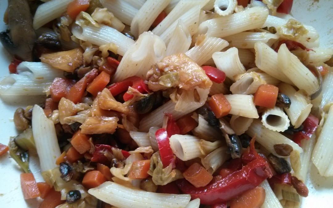 ירקות מוקפצים בסגנון סיני